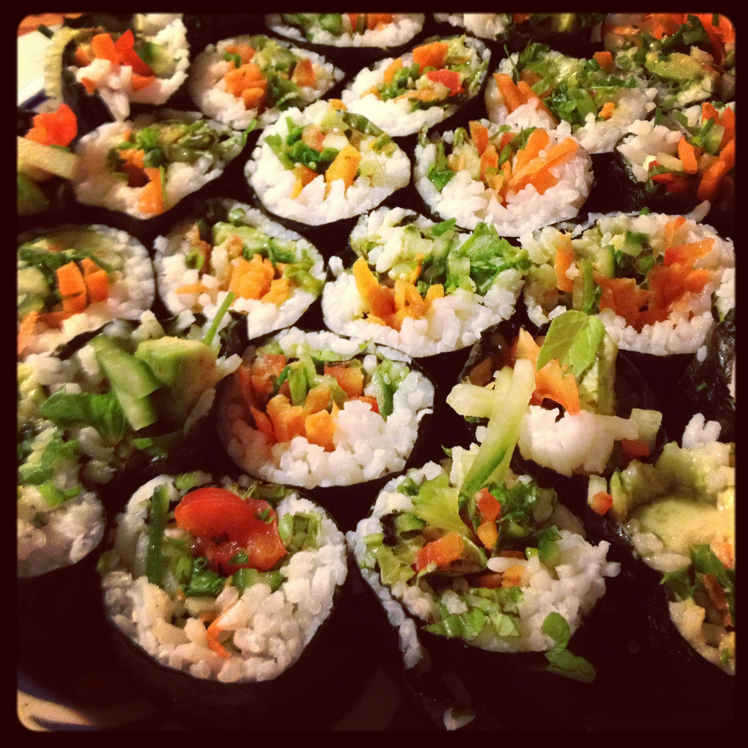 Emily S Home Cooking Garden Sushi